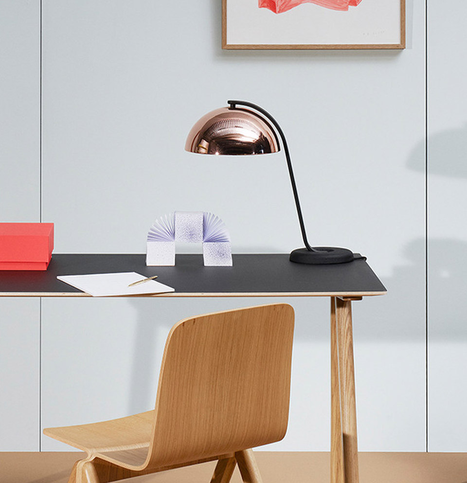 CLOCHE TABLE LAMP BY WRONG FOR HAY