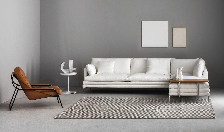 1330 WILLIAM corner sofa by Zanotta